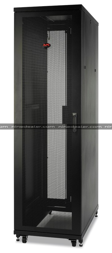 NetShelter SV 42U 600mm Wide x 1200mm Deep Enclosure with Sides Black