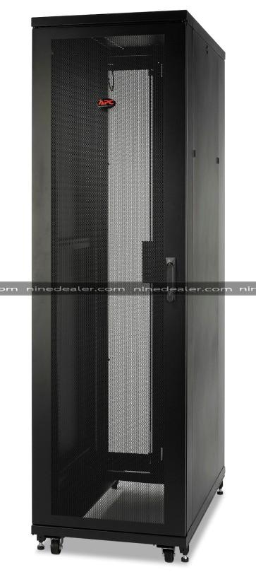 NetShelter SV 48U 600mm Wide x 1200mm Deep Enclosure with Sides Black