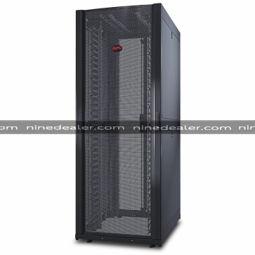 NetShelter SX 42U 750mm Wide x 1070mm Deep Networking Enclosure with Sides Black