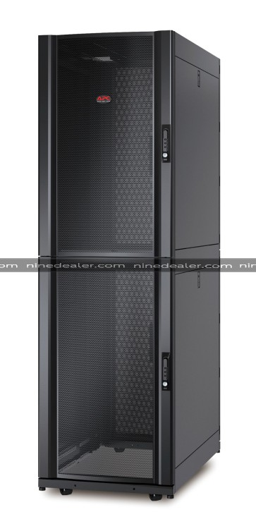 NetShelter SX Colocation 2 x 20U 600mm Wide x 1070mm Deep Enclosure with Sides Black