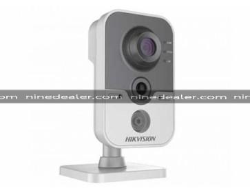 DS-2CD2410F-IW 1MP,Cube,Indoor,2.8mm,Wifi+Mic,1280x720, DC12V & PoE, IR: up to 10m