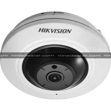 DS-2CD2955FWD-IS  5MP,Fisheye,Indoor,Fisheye,H.265+  , Audio/ Alarm IO,2560×1440, 2048×1536, 1920×1080,ICR; EXIR 2.0, up to 8m, DC12V&PoE