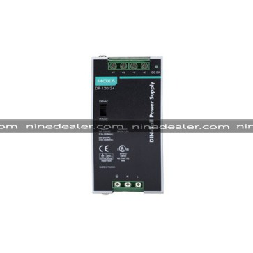 120W/5A, 24 VDC, with 88 to 132 VAC/176 to 264 VAC input by switch
