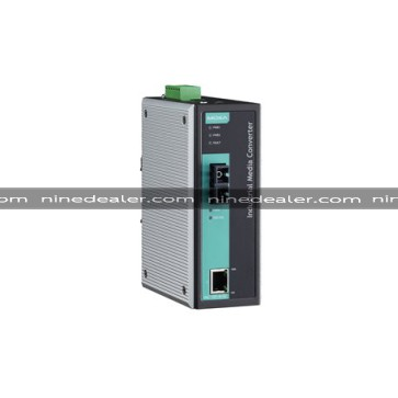 IMC-101 Industrial media converter, SMF, SC, 40 km, IECEx,-40 to 75°C