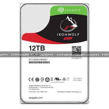 "ST12000VN0007 | SEAGATE IronWolf HDD 3.5"" 12TB SATA-III 7200rpm Cache 256MB"