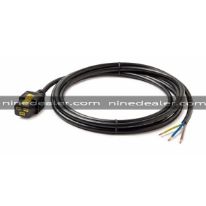 Power Cord, Locking C19 to Rewireable, 3.0m