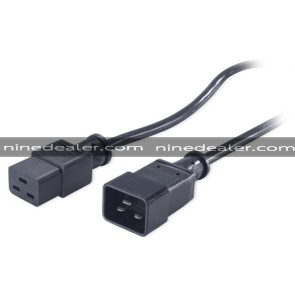 Power Cord, C19 to C20, 0.6m