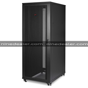 NetShelter SV 42U 800mm Wide x 1200mm Deep Enclosure with Sides Black