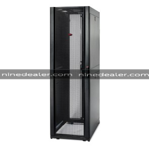 NetShelter SX 45U 600mm Wide x 1070mm Deep Enclosure with Sides Black