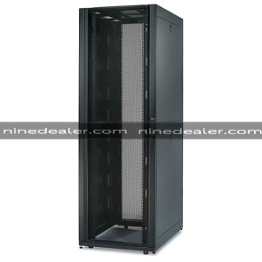 NetShelter SX 42U 750mm Wide x 1070mm Deep Enclosure with Sides Black