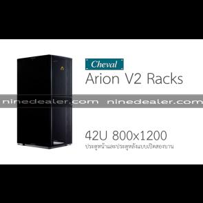 Arion V2 RACK 42U 800x1200 EX Black