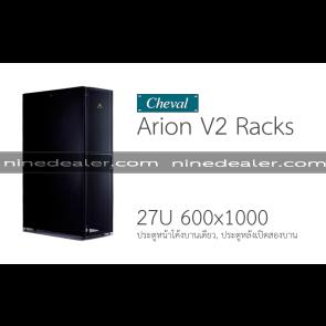 Arion V2 RACK 27U 600x1000 Black