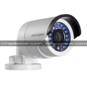 DS-2CD2010F-I  1.3MP,Mini Bullet,4mm,1280 x 960, IP67,IR 30m.,DC12V & PoE
