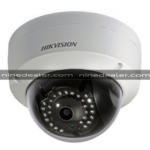 DS-2CD2110F-I 1.3MP,Dome,Indoor/ outdoor,1280 x 960, IP67,DC12V & PoE,IR30m.