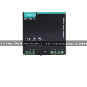 240W/5A DIN-Rail 48 VDC power supply with universal 85 to 264 VAC input, -10~70°C