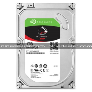 "ST1000VN002 | SEAGATE IronWolf HDD 3.5"" 1TB SATA-III 5900rpm Cache 64MB"