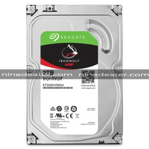 "ST2000VN004 | SEAGATE IronWolf HDD 3.5"" 2TB SATA-III 5900rpm Cache 64MB"