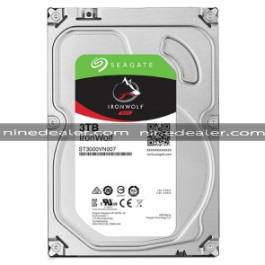 "ST3000VN007 | SEAGATE IronWolf HDD 3.5"" 3TB SATA-III 5900rpm Cache 64MB"