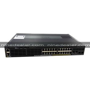WS-C2960X-24PSQ-L  Catalyst 2960-X 24 GigE PoE 110W, 2xSFP + 2x1GBT, LAN Base